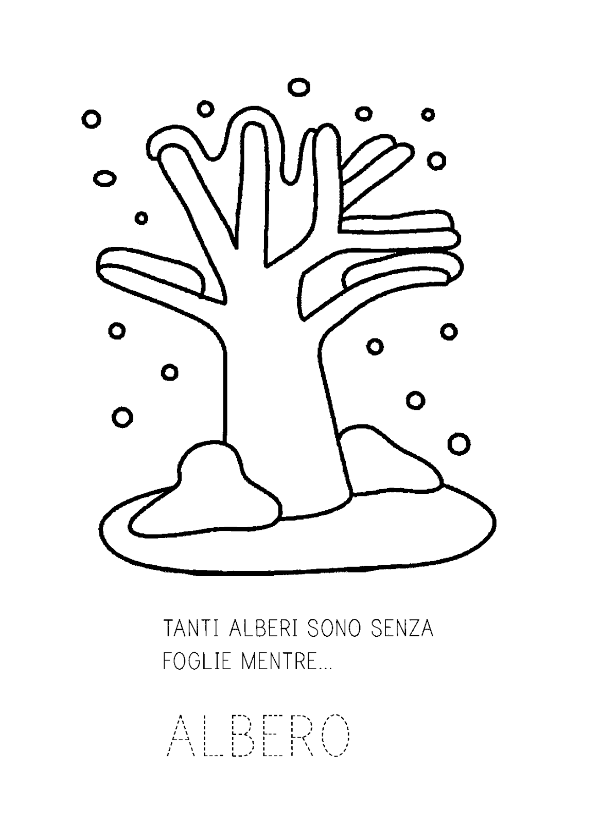 La Maestra Linda Il Libro Dell Inverno Brevi Poesie Alberi Di