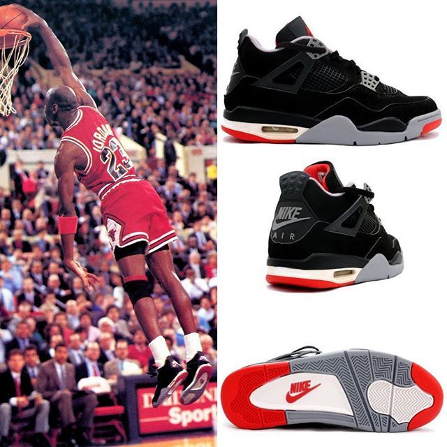 4b4287898bc Nike Air Jordan 4 Bred 2019 Release Date | shoes | Air jordan 4 bred ...