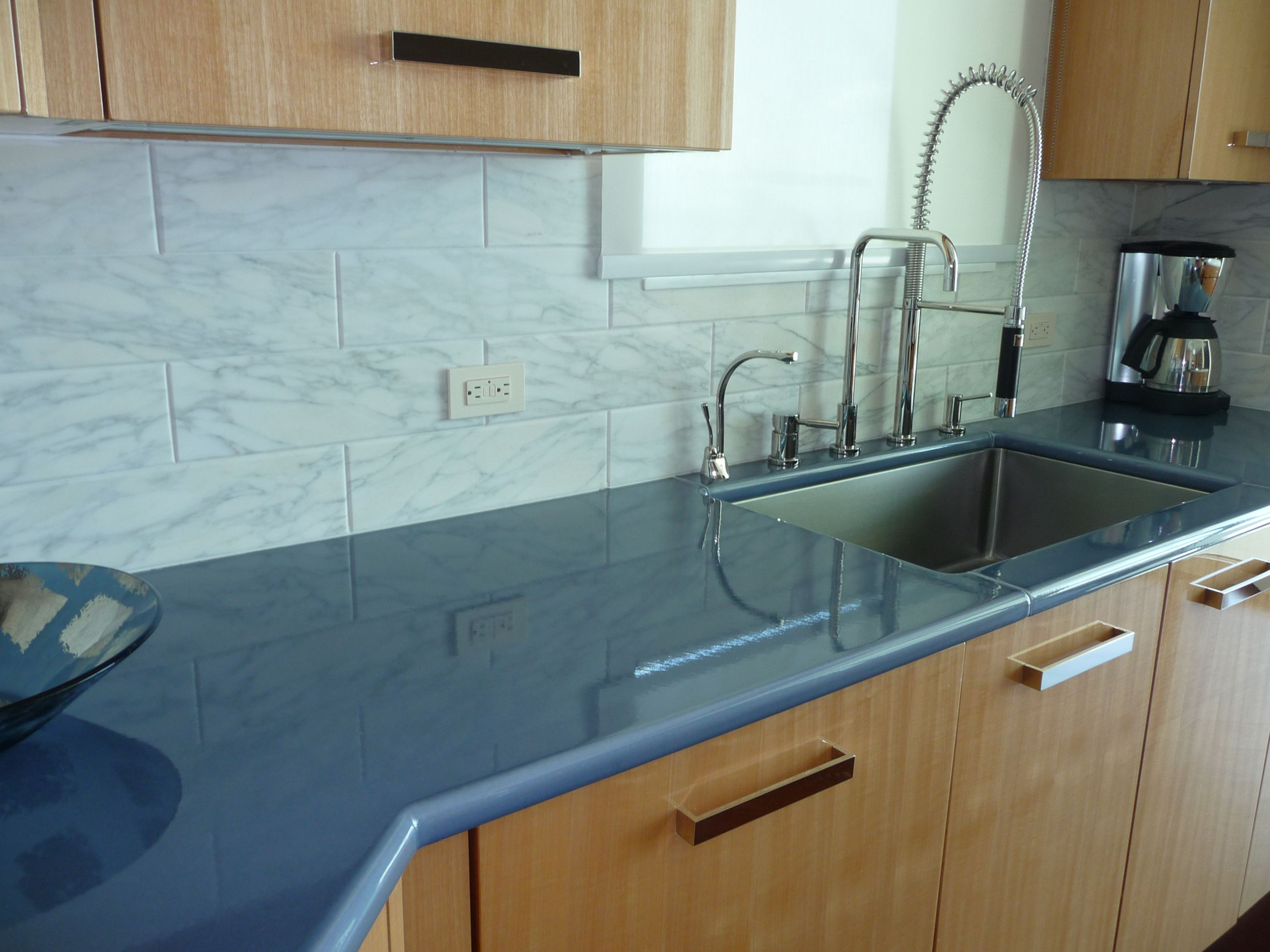 Composite Kitchen Countertops | Countertops, Epoxy and Kitchens