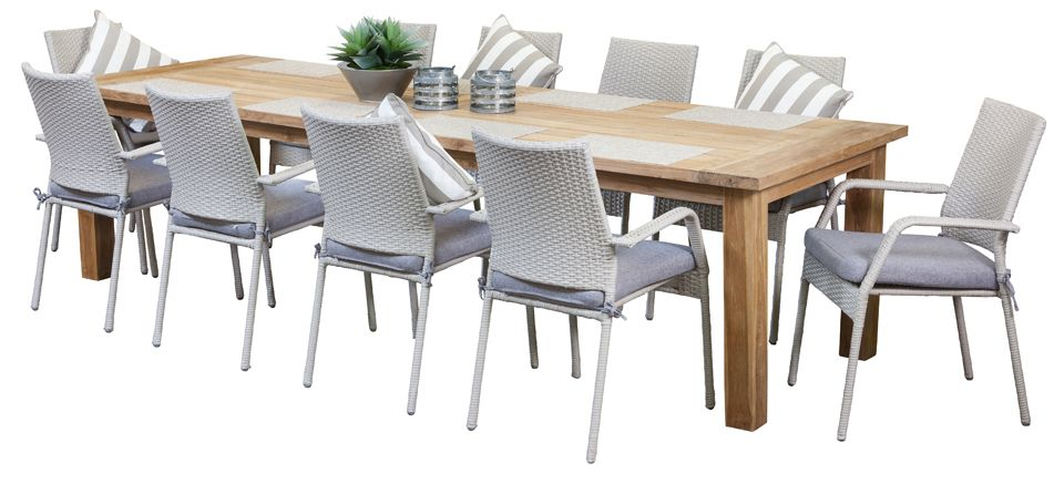 Teak Outdoor Dining Sets Stanford