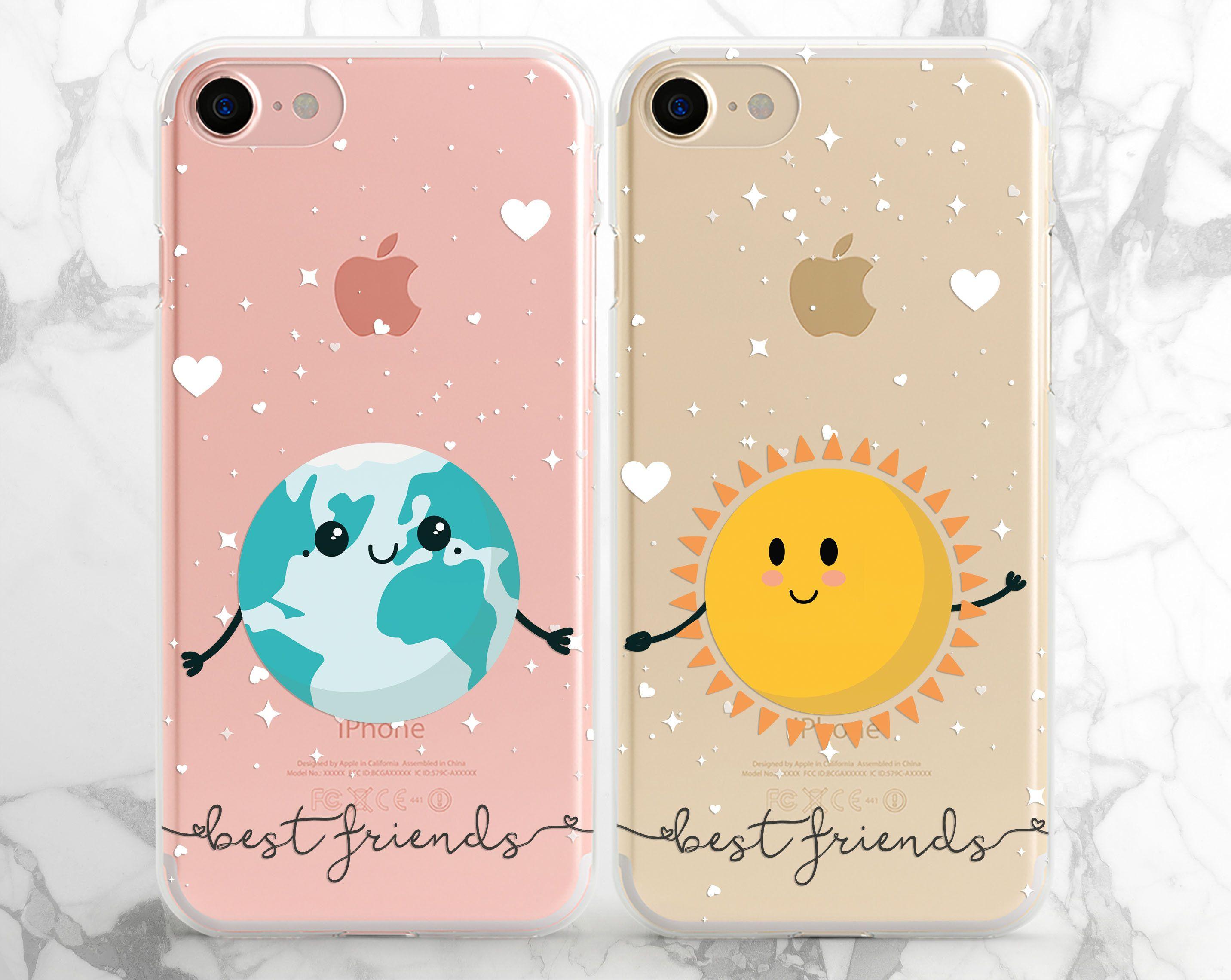 Best Friends Cases Iphone Couple Case Iphone Cute Case Xs Max Etsy Friends Phone Case Case Iphone Couple Bff Phone Cases Iphone