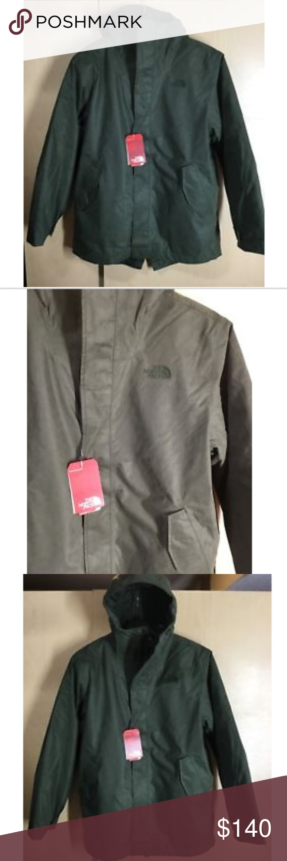 The North Face NEW Mens Elmhurst Triclimate Jacket NWT  477037547