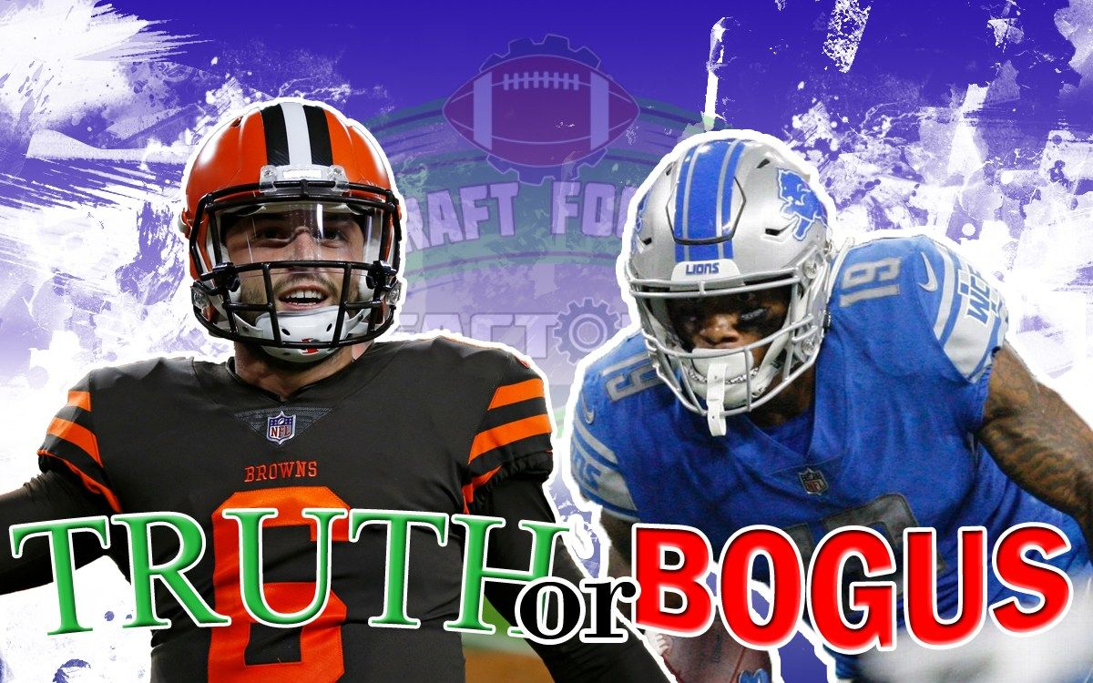 Truth Or Bogus Week 12 Recap Fantasy Football Names Football