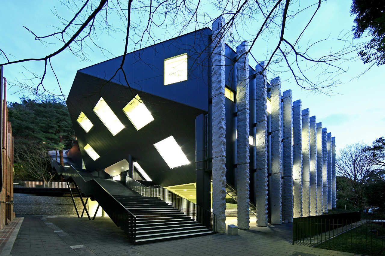 Shiseikan Kengo Kuma Associates Kengo Kuma Architecture And
