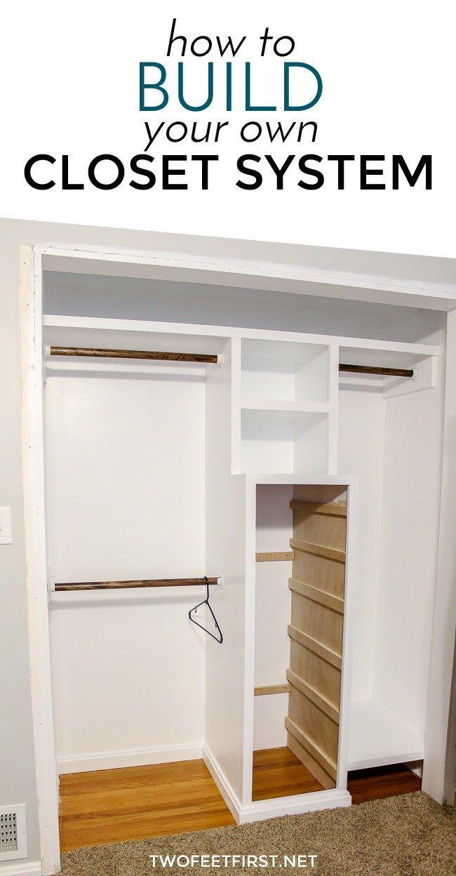 How To Build A Closet System The Plans Closet Renovation