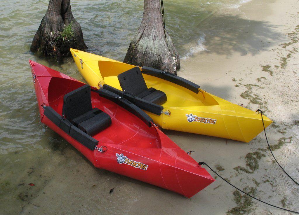 2 for 600 Winter SALE Tucktec Folding Kayaks Portable