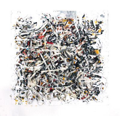 Numéro 166   5 pages en couleurs Peinture, crayon bic, découpage de - bombe de peinture aluminium
