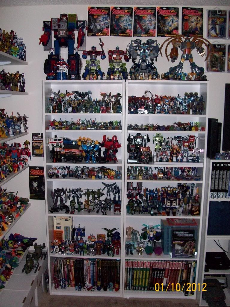 A pretty nice Transformers collection