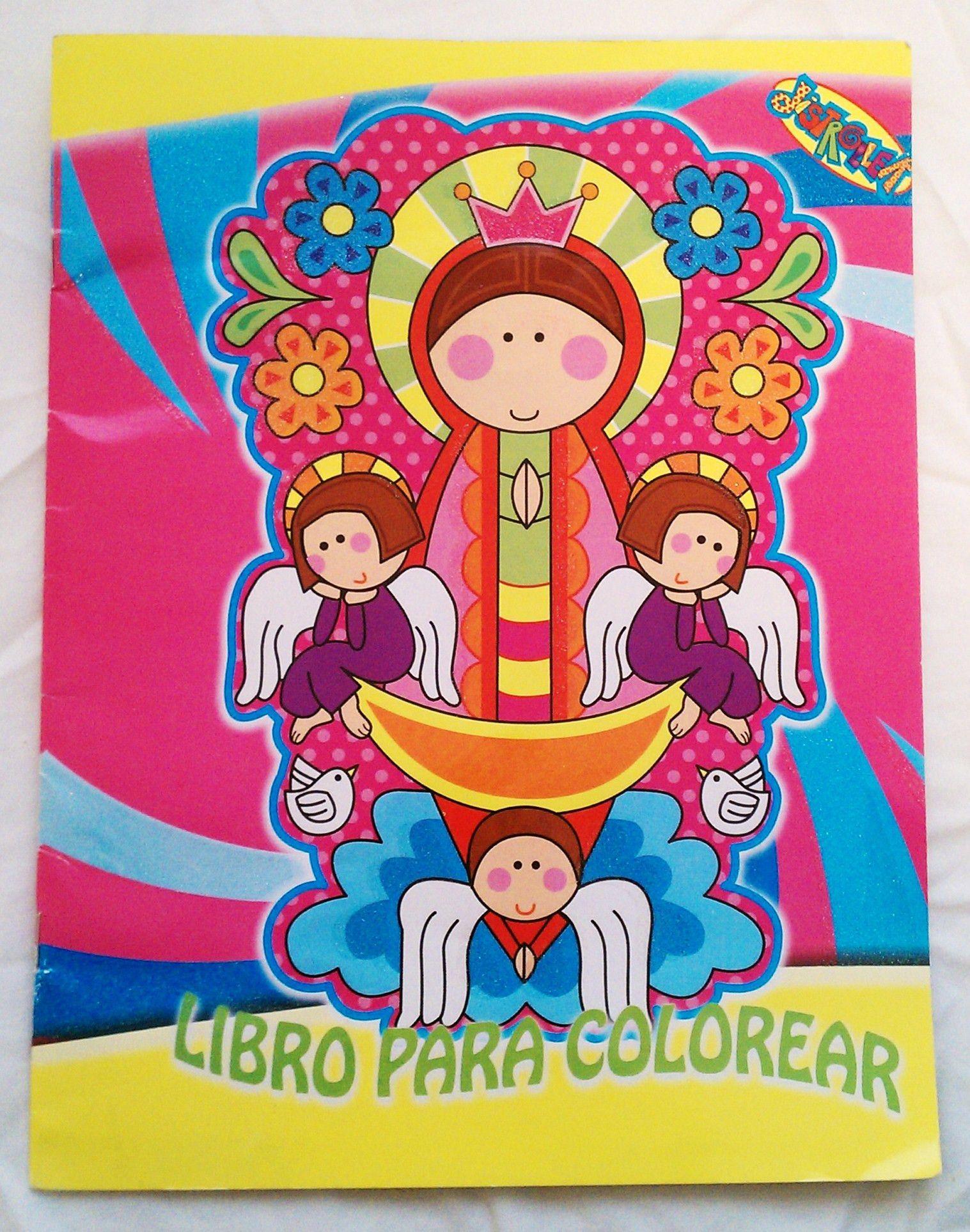 virgencitas plis para colorear - Buscar con Google | Virgen de ...
