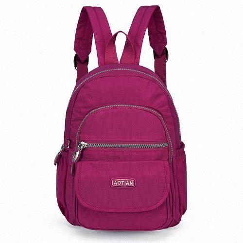a3307d7dc45a Pretty Style Girl s Backpack Waterproof Nylon Lady Women s Backpacks Female  Casual Travel Bags mochila feminina Teenage