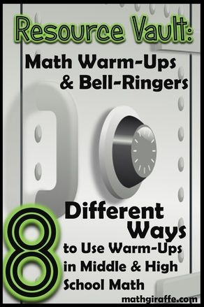 8 Unique Formats For Math Warm Ups Ideas Strategies And