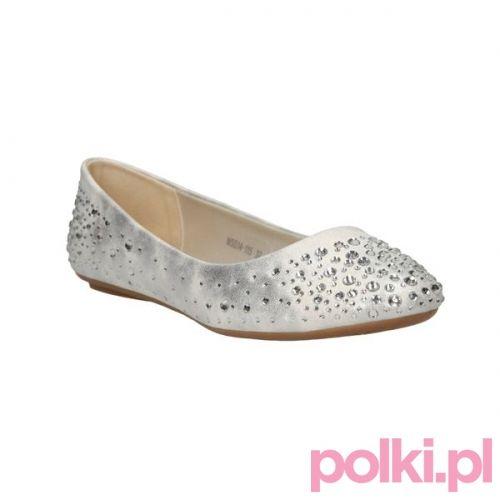 Srebrne Baleriny Ccc Buty Shoes Polkipl Ccc Shoes Fashion Polki