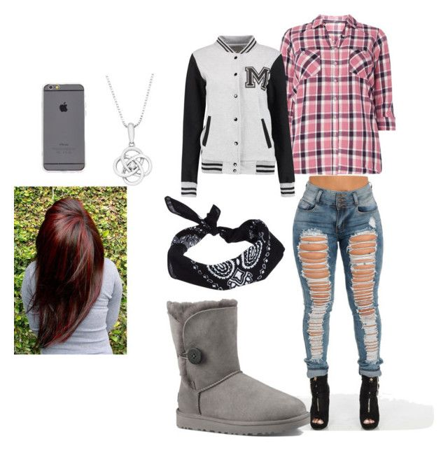 """""""💯💋"""" by nmcneil-nm ❤ liked on Polyvore featuring UGG Australia and ASOS"""