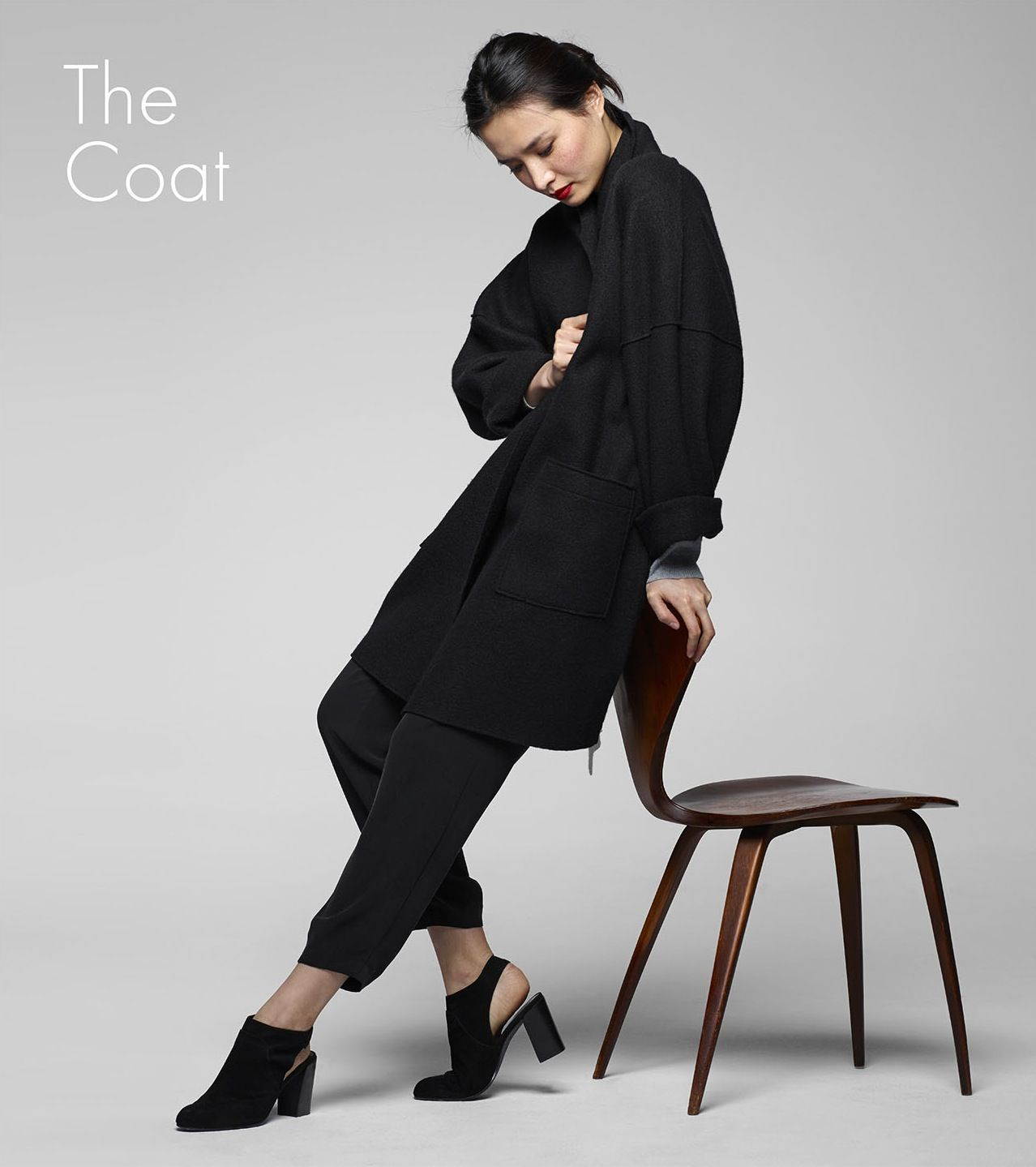 eileen fisher icons collection : the kimono coat #EF30 | Fashion ...