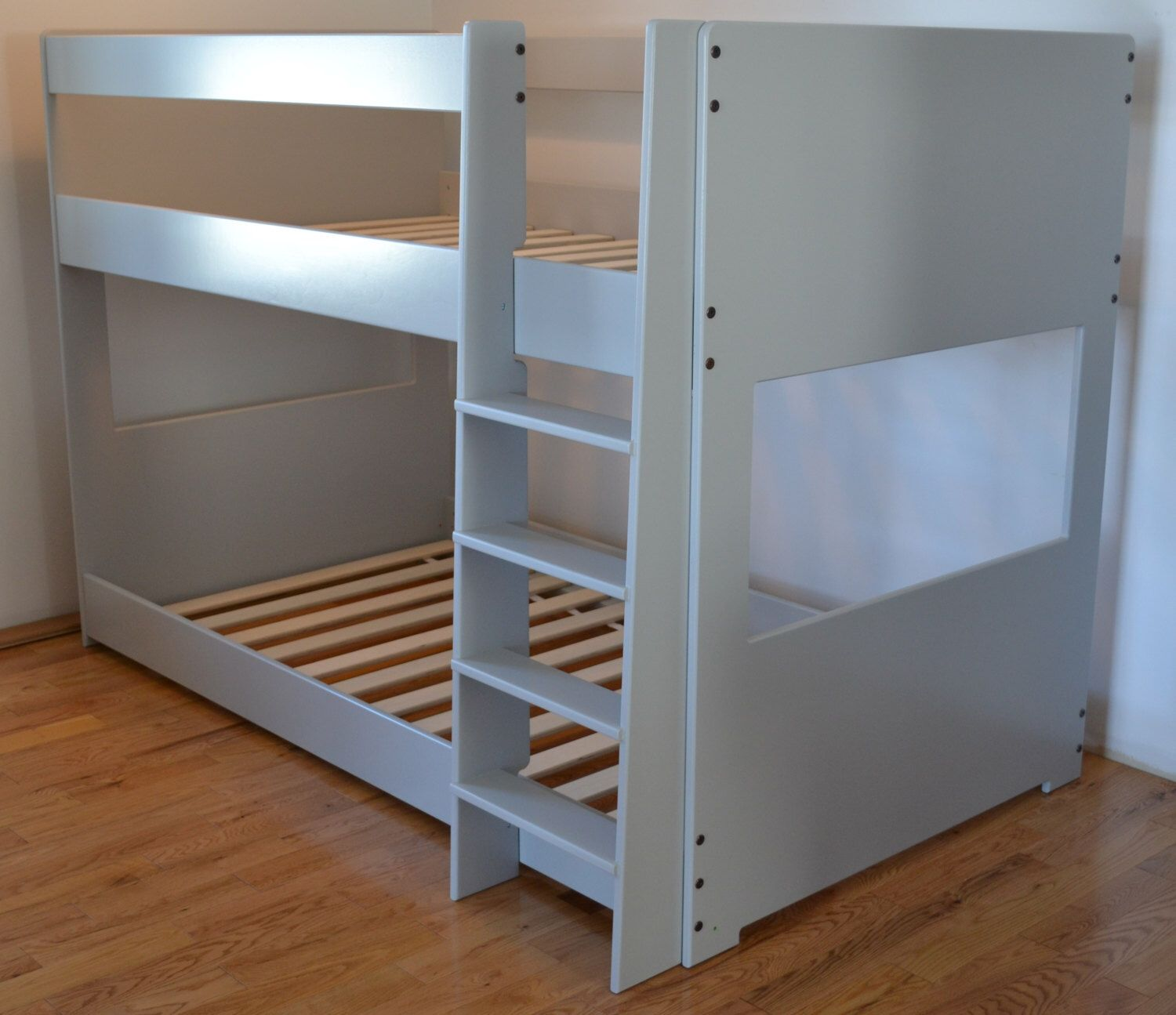 Bunk beds for 10 inch thick mattresses by BetweenPosts on