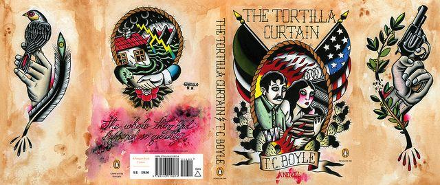 The Tortilla Curtain Full Tortilla Curtain Book Tattoo Artwork