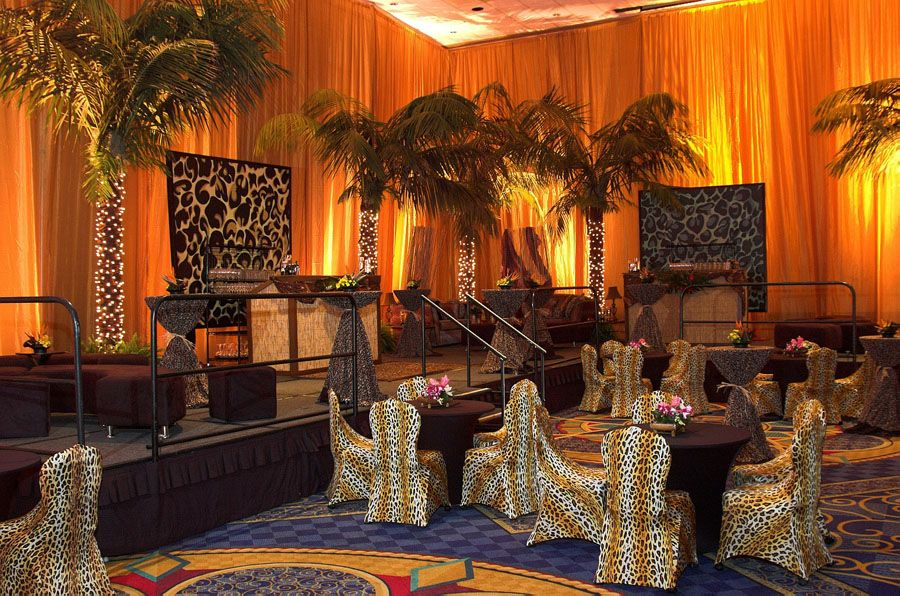 It S A Jungle Theme Party Pacific Event Productions