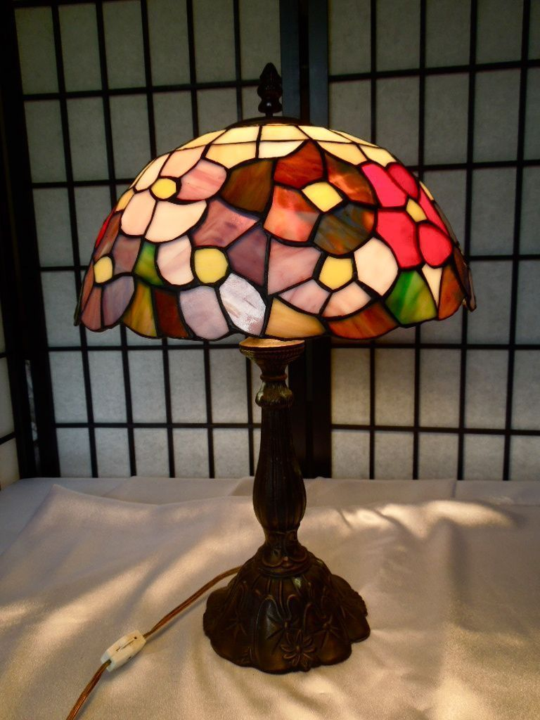 Old tiffany style table lamp ebay dream home pinterest old tiffany style table lamp ebay aloadofball Choice Image