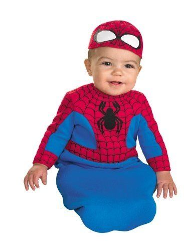 spider man bunting infant halloween costume 0 6 months