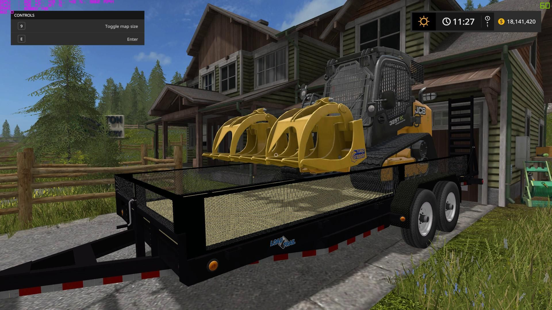 Pin by Brian Hay on jcb | Landscape trailers, Monster trucks, Sims mods