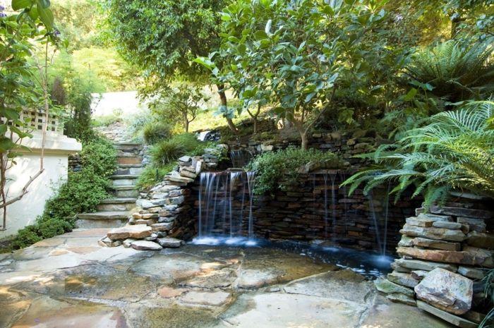 Wasserfall im Garten selber bauen - 99 Ideen, wie Sie die Harmonie - wasserfall selber bauen