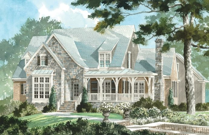 Showcase Home Southern Living At Its Best Ay Magazine Southern House Plans Southern Living House Plans Cottage Plan
