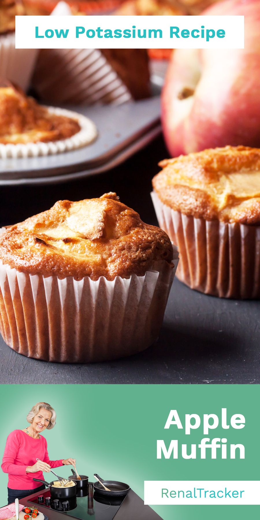 Apple muffins low potassium recipes kidney friendly