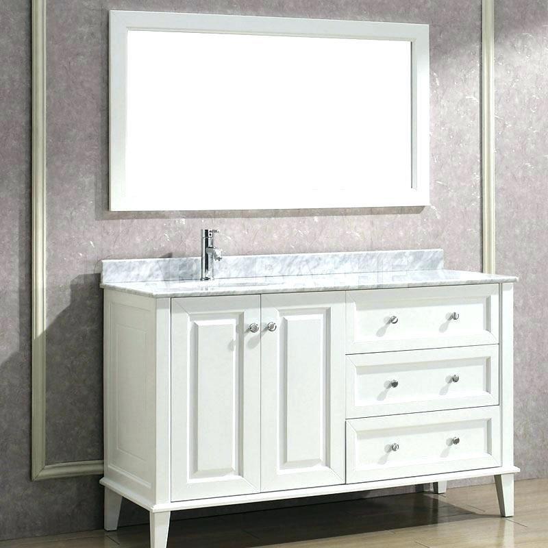15++ 60 inch vanity top single sink right side custom