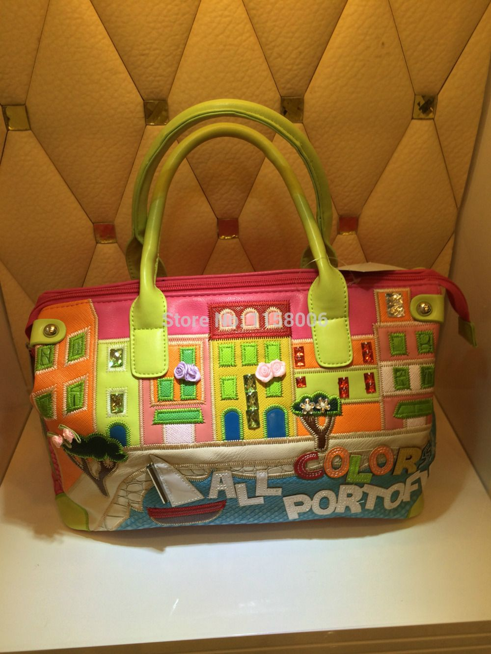 Liques Braccialini Totes Women Handbag Cartoon Kawaii Italy Brands Bags All Color