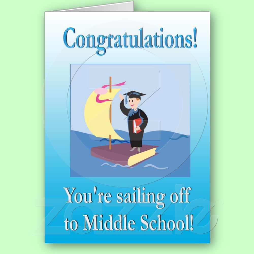 For the student who is off to middle school 300 graduation explore middle school greeting cards and more kristyandbryce Gallery