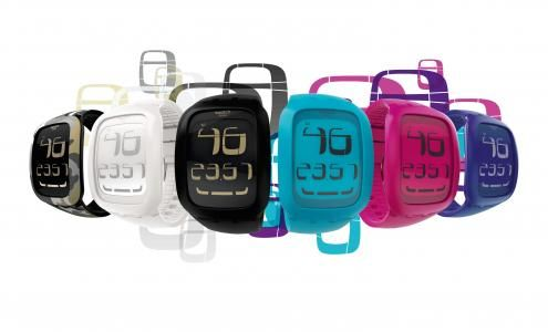 Swiss fashion brand Swatch presents Swatch Touch 2011, a colourful new collection of trend-setting timekeepers with big-screen LCD dials and a touch-sensitive zone in place of pushbuttons.