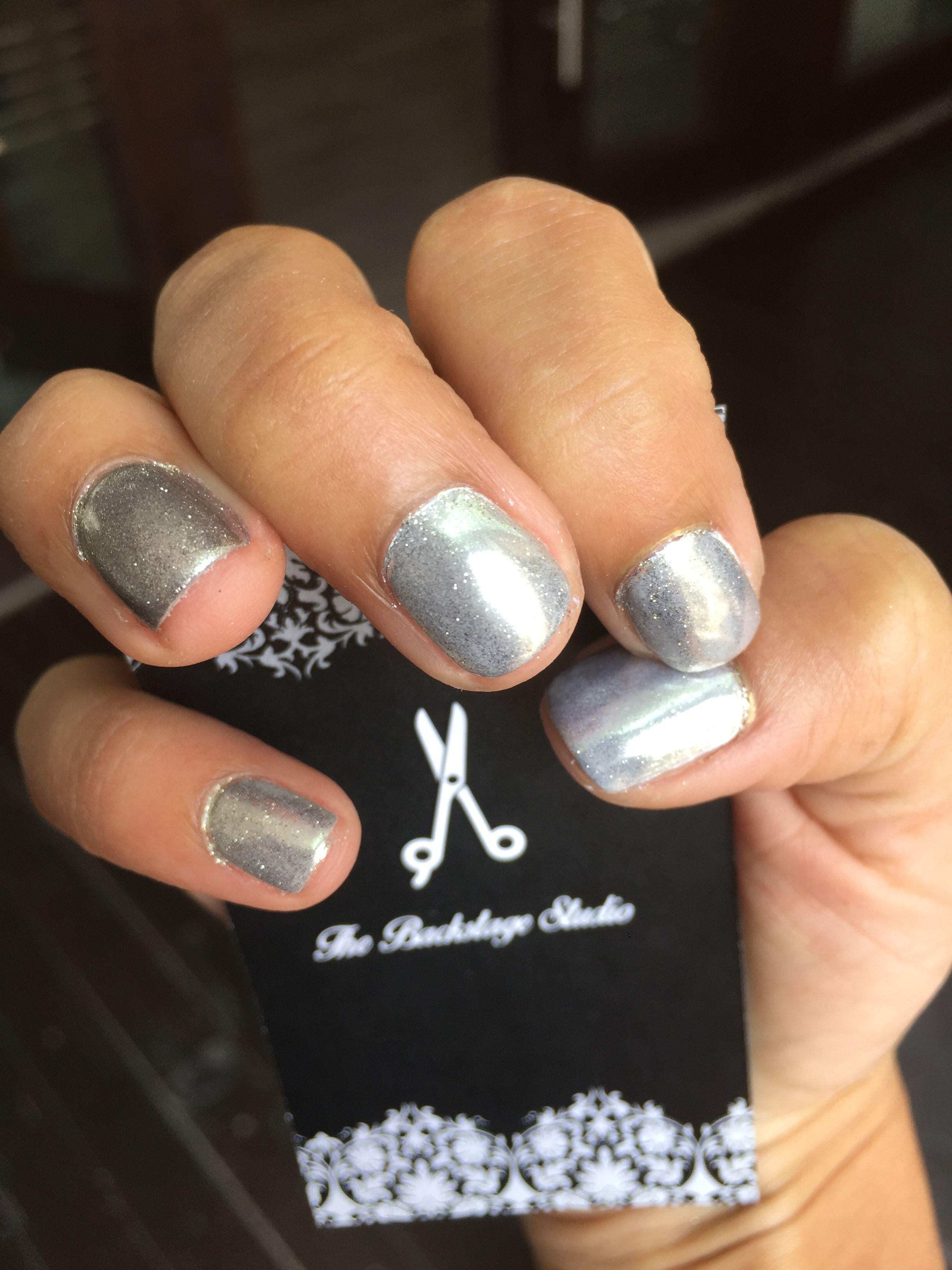 Diseño de uñas en gel cromado | Diseños uñas Nails | Pinterest ...