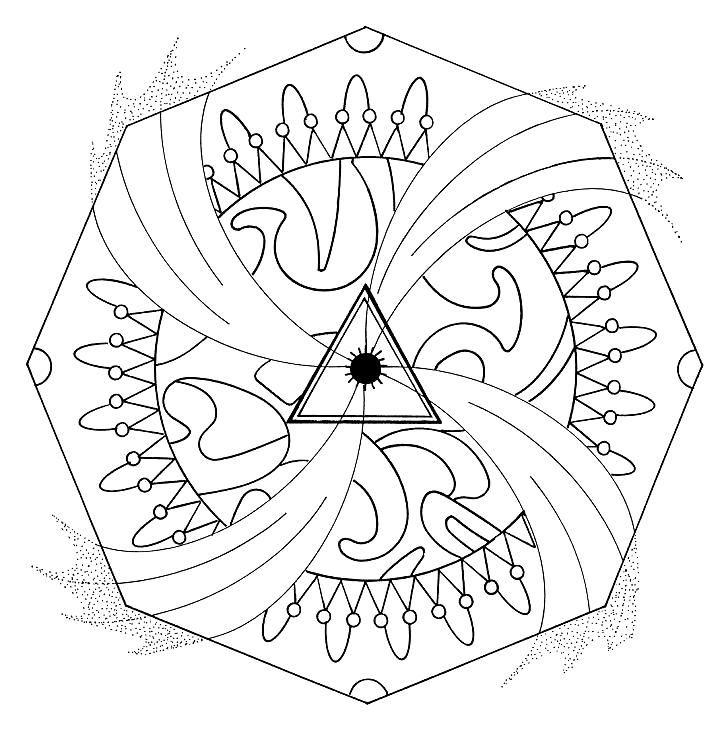 72 mándalas para pintar en meditación - mándalas del mundo   Diseño ...