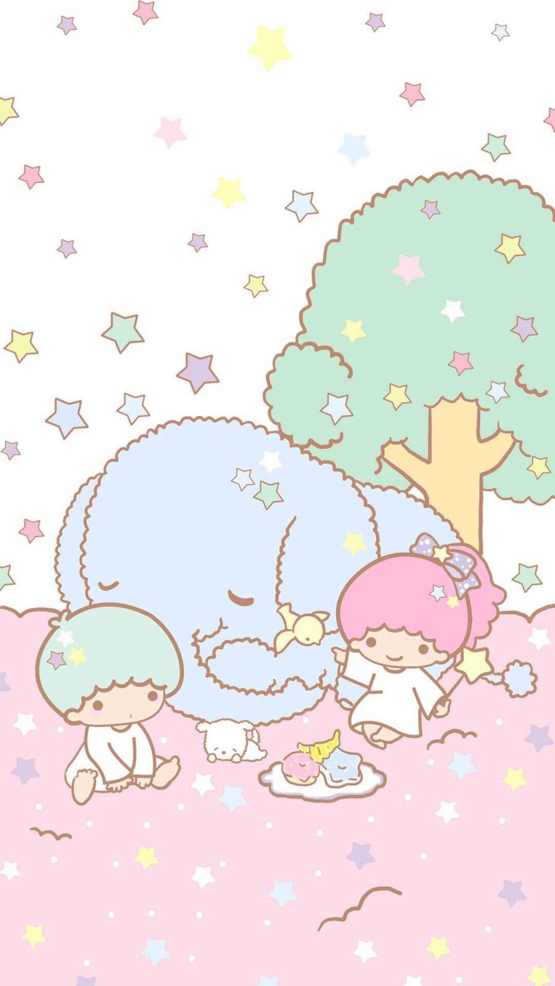 Little Twin Stars Little Twin Stars Cute Wallpapers Sanrio Wallpaper