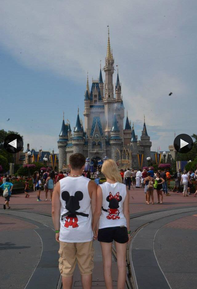 Walt Disney World Disney Magickingdom Love Cute Couple Wdw