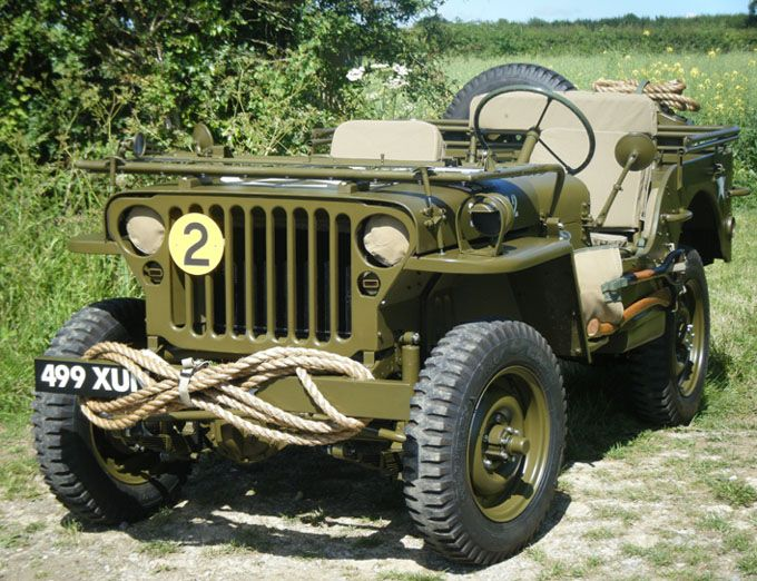 1943 Willys-Overland MB (the original Jeep). Light, fast, and a shitload of fun to bomb around in.