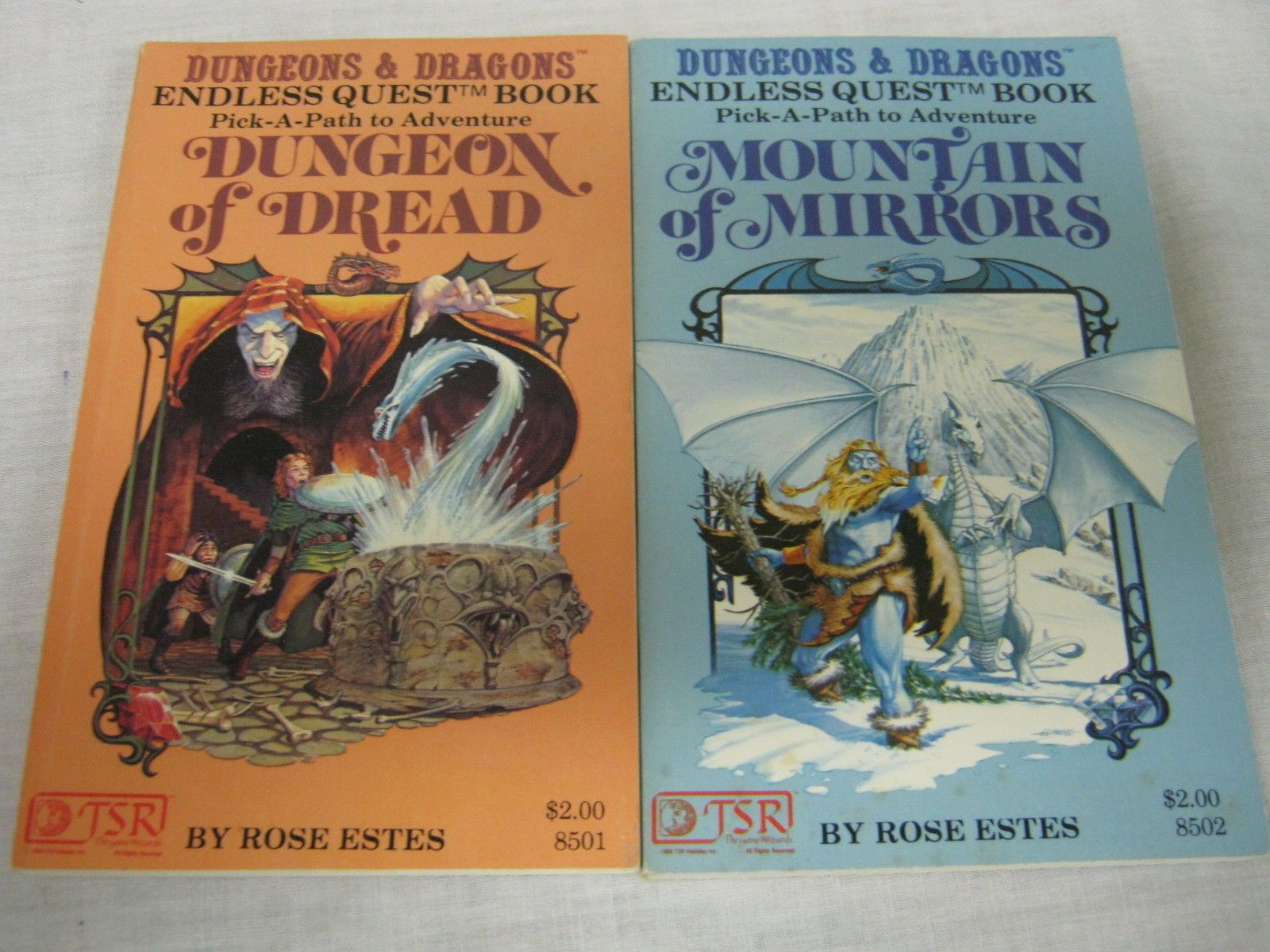 Dungeons dragons endless quest books pick a path to adventure dungeons dragons endless quest books pick a path to adventure fandeluxe Gallery