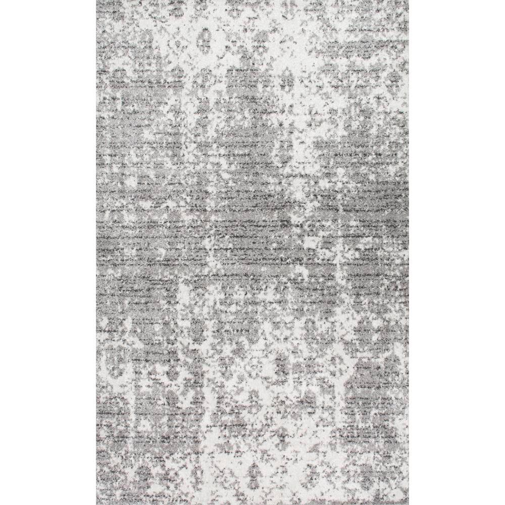Photo of nuLOOM Misty Distressed Deedra Grey 2 x 2 m großer Teppich-BDSM08A-6709 – The Home Depot