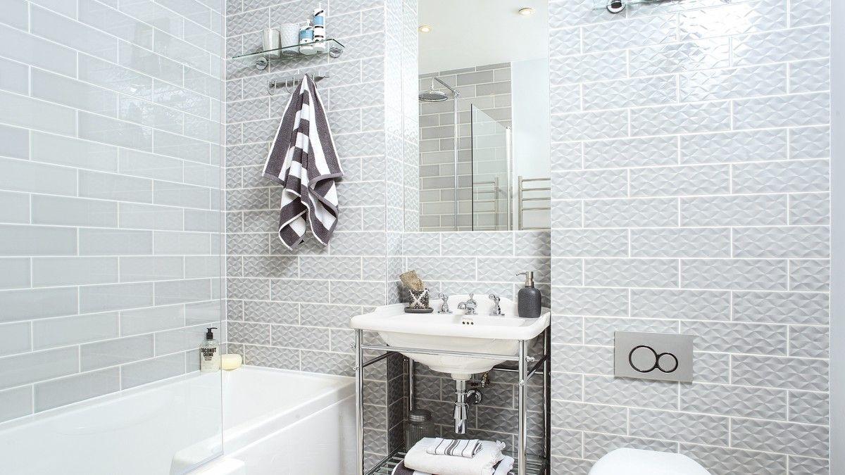 Modern Grey Bathroom with Showercube Bath | building our house ...