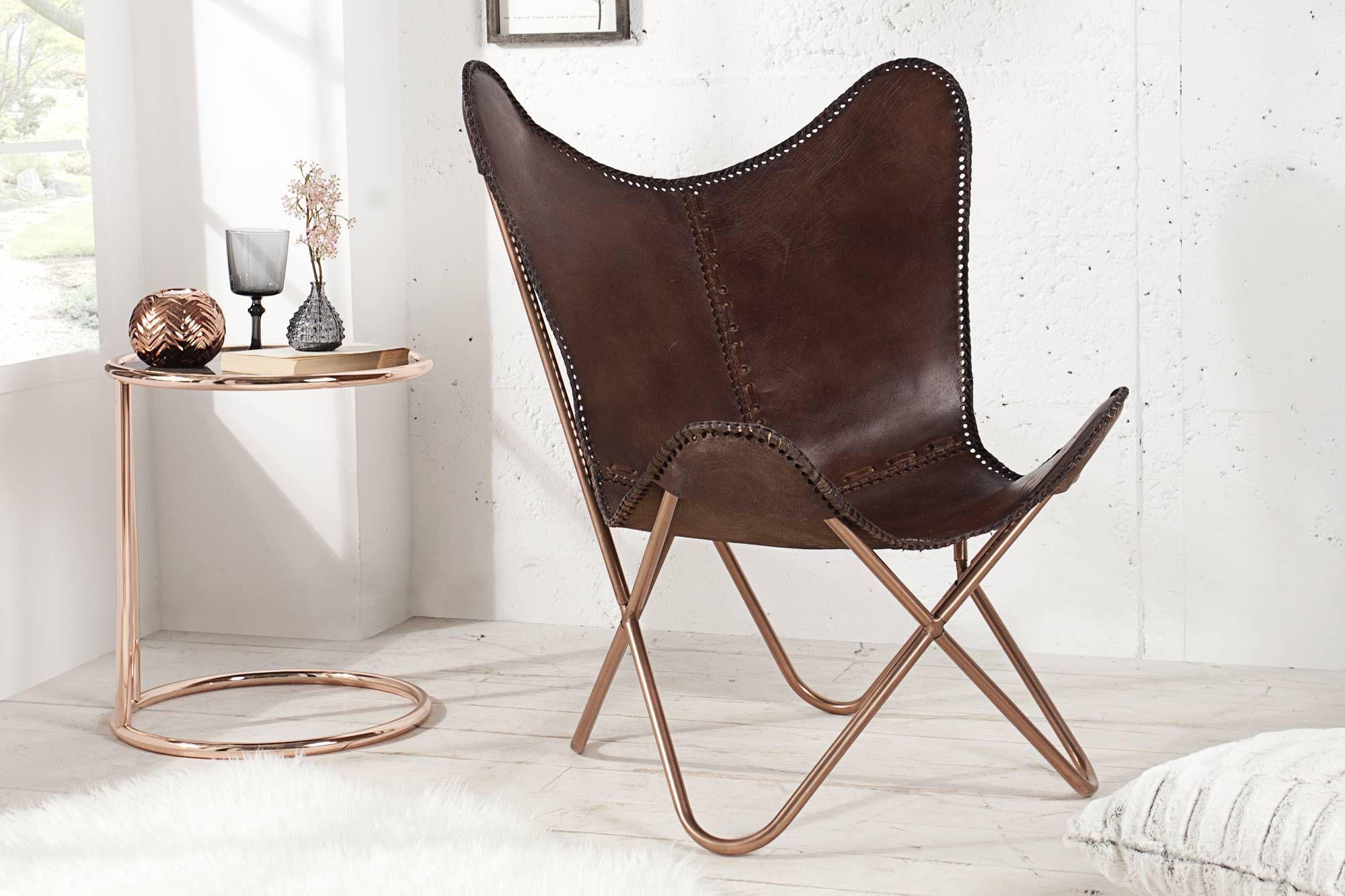 Dizajnové stoličky : Luxusné kreslo Fairy hnedé, estilofina.sk