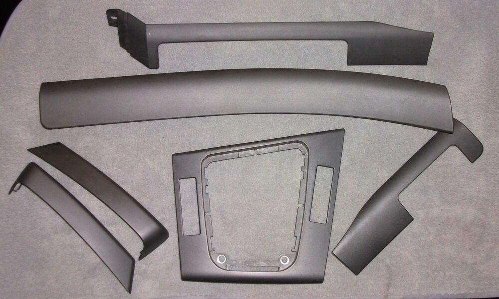 Bmw 3 Series E46 Compact Rhd Matt Graphite Interior Trim Kit All 6 Sections Bmw Bmw E46 Interior Trim Bmw