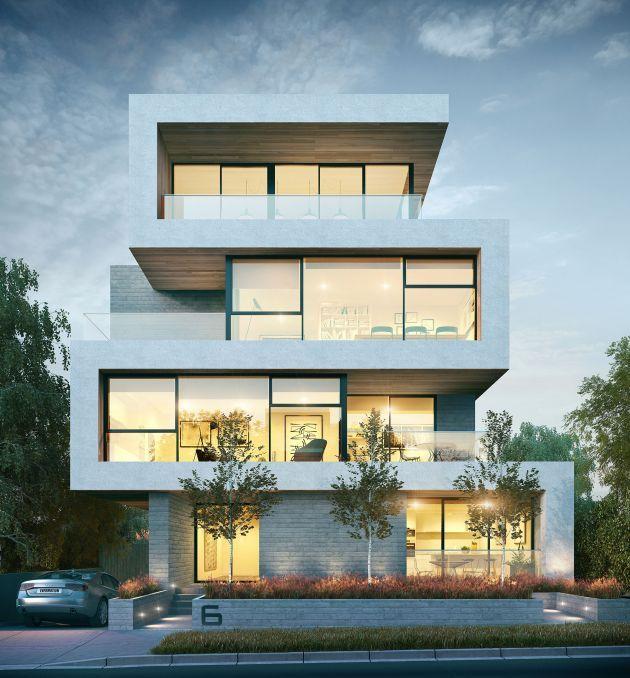 CGarchitect - Professional 3D Architectural Visualization User Community | 6 Queens #architeture #arquitetura #pin_it @mundodascasas See more here: www.mundodascasas.com.br