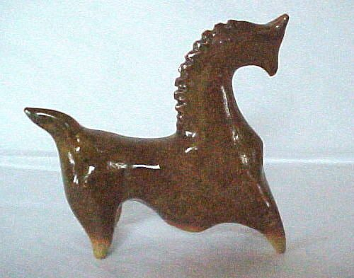 Vintage Mid Century Modern Horse Figure by antiquetomodern on Etsy
