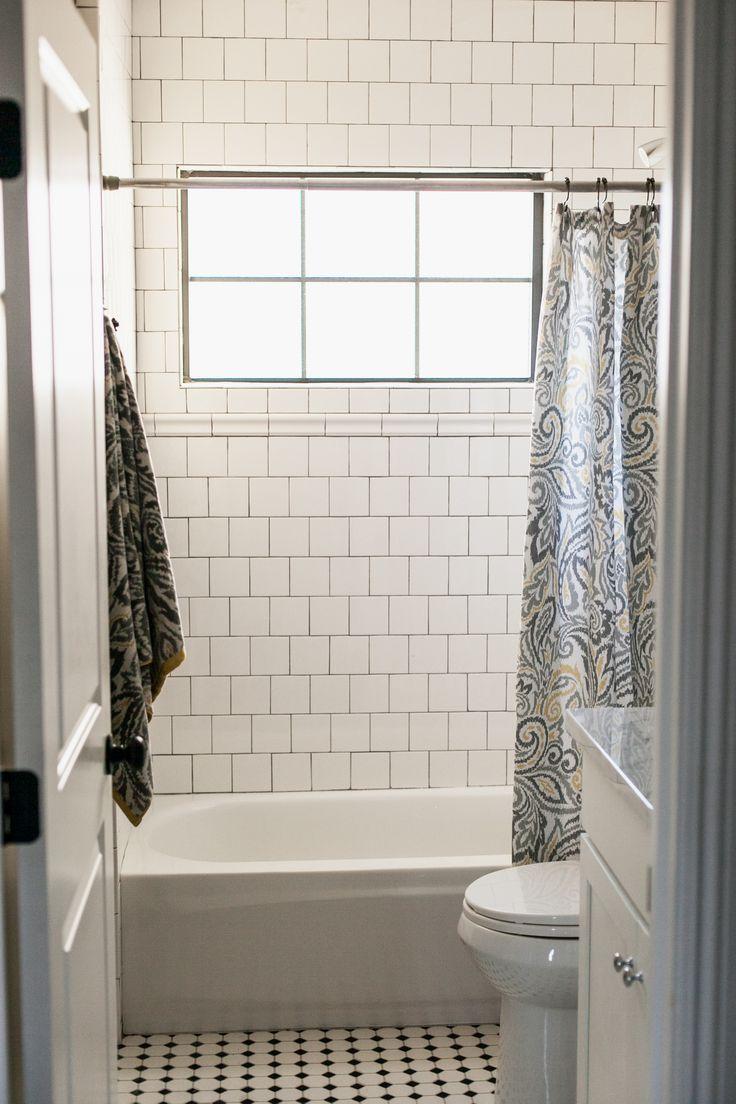 4x4 tile white tile bathroom shower