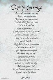 Wedding Poem Template