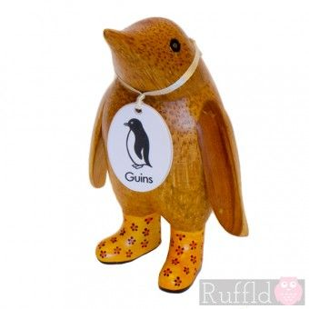 Baby wooden guin penguin in yellow welly boots easter gifts baby wooden guin penguin in yellow welly boots easter giftwelly negle Images