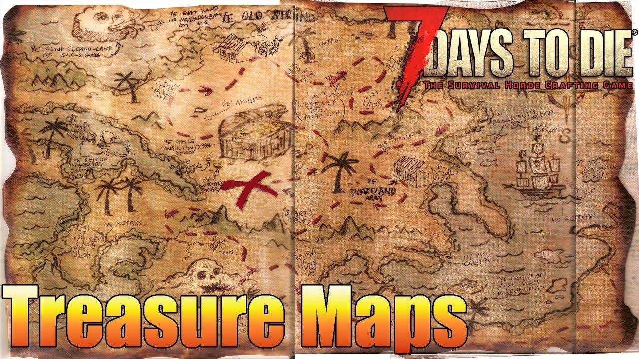 7 Days To Die How To Find Buried Treasure Alpha 15 7 Days To Die
