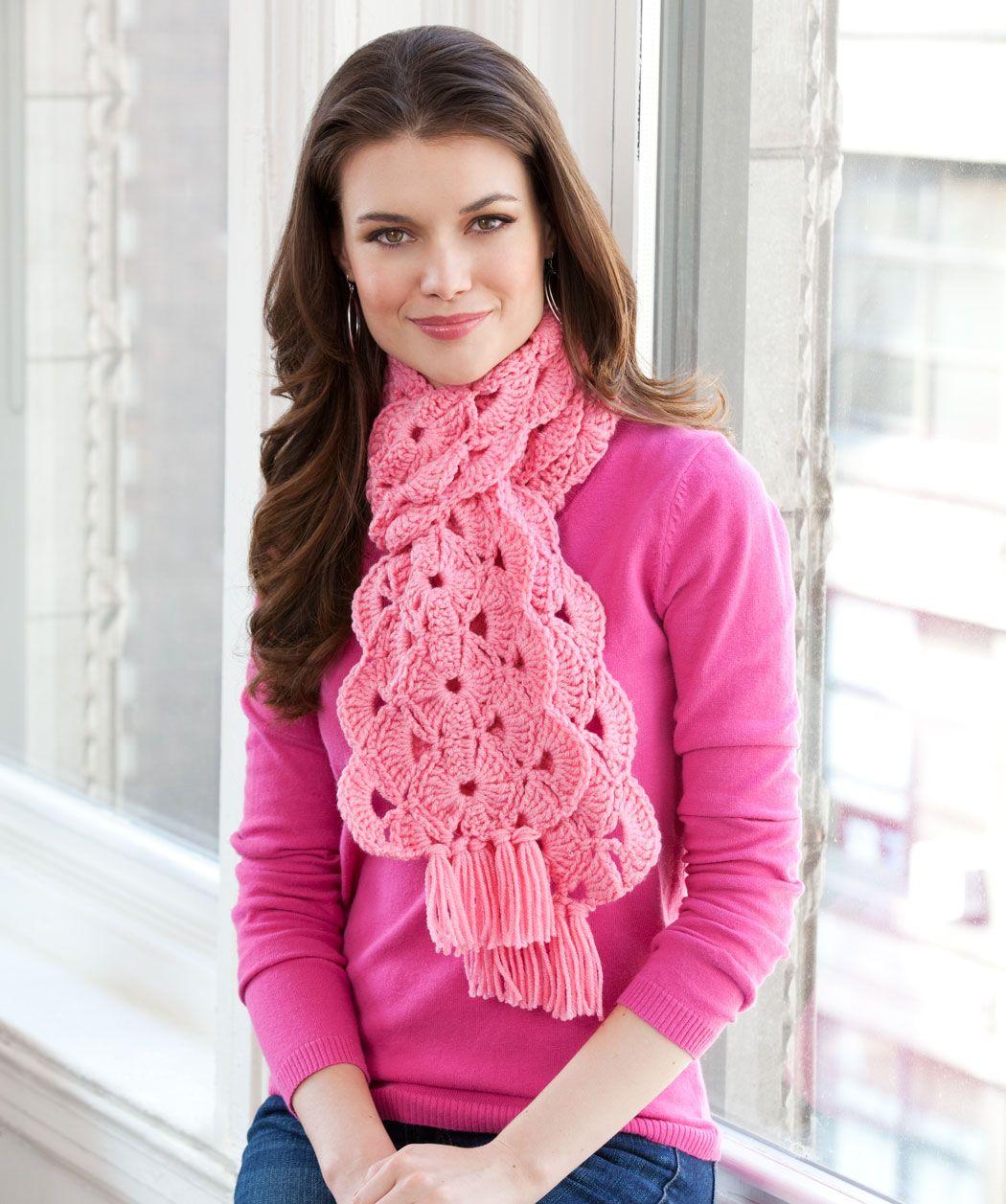 Con la esperanza de la bufanda   bendita lana   Pinterest   Tejido ...