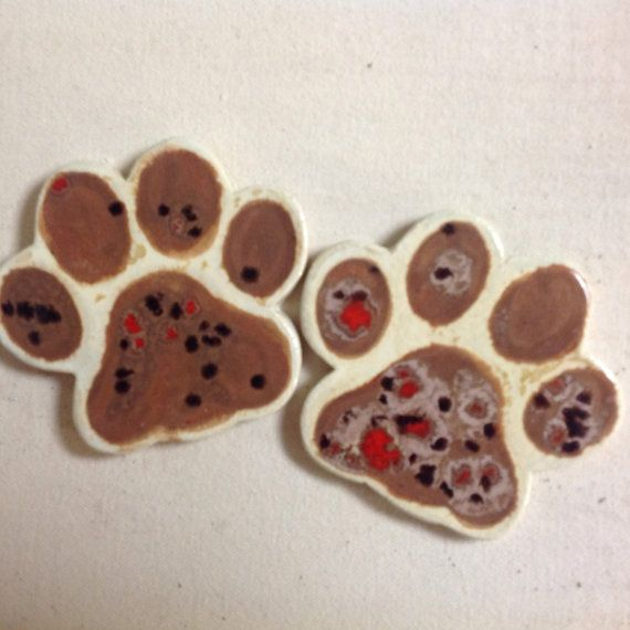 Paw Tile 4 inch