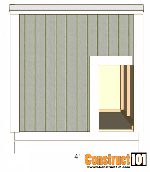 Dog House Plans Free PDF Download Construct101